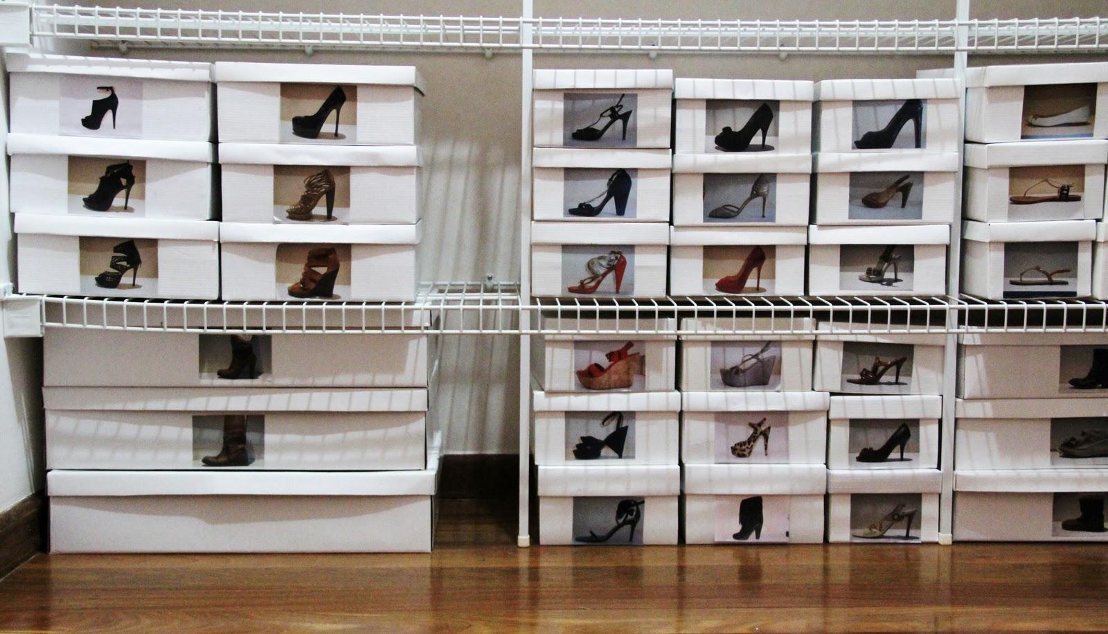 Dicas De Como Organizar Sapatos Renata Vendramini Personal  ~ Como Organizar O Quarto Da Bagunça